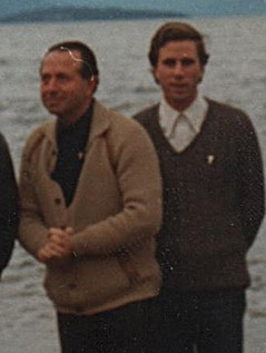Fernando Karadima y Cristóbal Lira en Puerto Varas