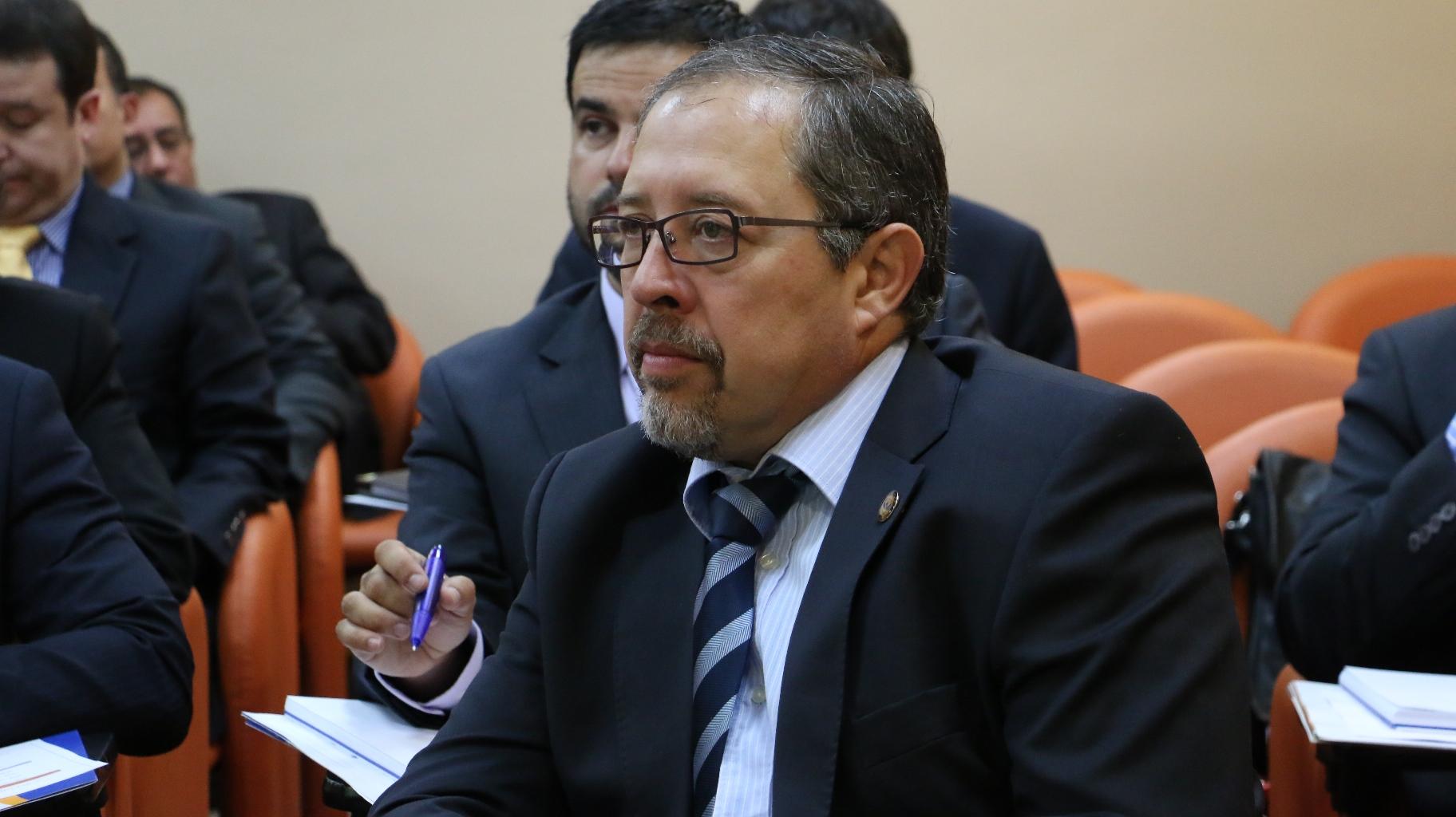 Fiscal Juan Agustín Meléndez.