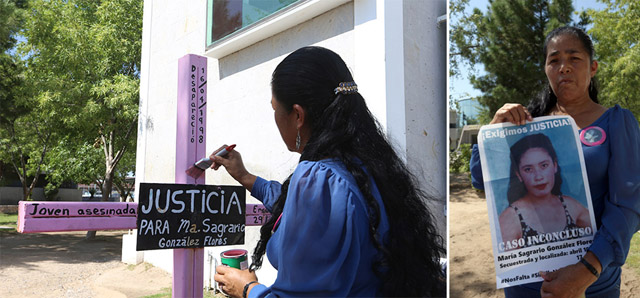 Lucio Soria   El Diario   Madre de Sagrario González, desaparecida el 16 de abril de 1998, recuerda a su hija el 31 de julio, ya que de no haber sido asesinada, cumpliría 34 años