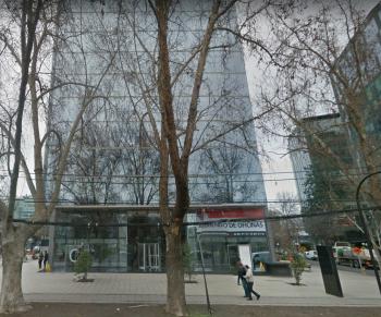 Oficinas de CAM Chile, en Providencia (Fuente: Google Street View)
