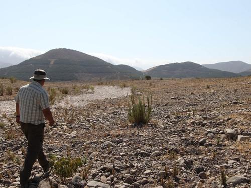 Los efectos de la crisis hídrica en Petorca.