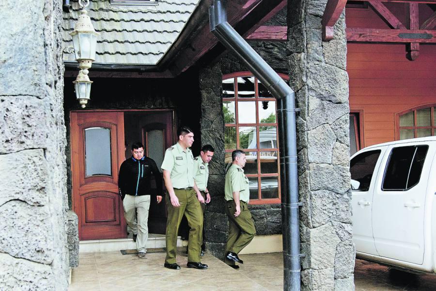 Allanamiento a la sede de la UIOE en Temuco
