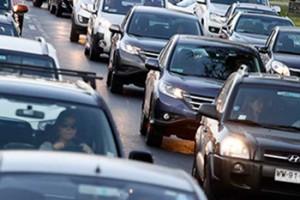 Aumento de flujo vehicular en el denominado Súper Lunes