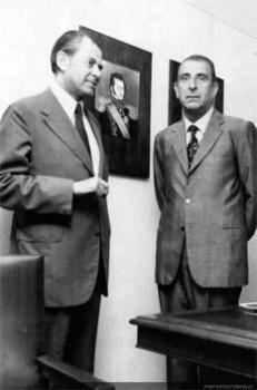 Patricio Aylwin y Eduardo Frei Montalva