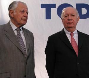Patricio Alwyn y Ricardo Lagos