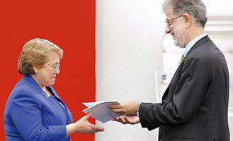 Presidenta Bachelet recibe informe de Consejo Anticorrupción