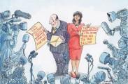caricatura impuestos