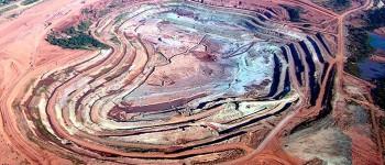 Vista de la mina de Catoca. (Foto: Embajada de Angola)