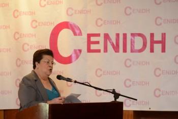 Doctora Vilma Núñez, presidenta del CENIDH. Carlos Herrera/Confidencial.