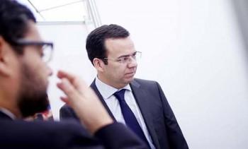 Ministro de Econom'a visita Feria del Consumidor