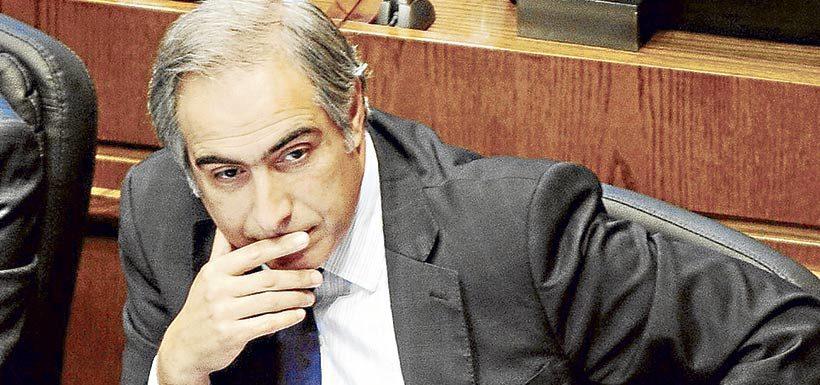 El ex diputado y actual senador Francisco Chahuán (RN)