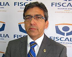 Héctor Mella, Fiscal Regional