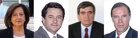 Senadores que NO respondieron las preguntas de Ciper