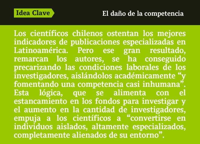 Ciencia sin alma: la impronta neoliberal en la investigación científica chilena
