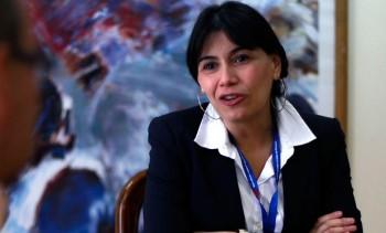 Ministra de Justicia, Javiera Blanco