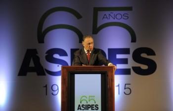 Luis Felipe Moncada, presidente Asipes.