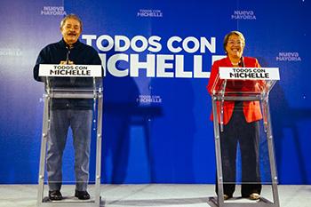 Lula da Silva y Michelle Bachelet