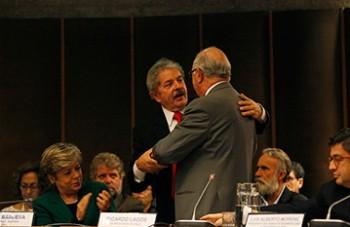 Lula da Silva y Ricardo Lagos (Fuente:Cepal)