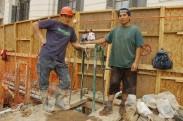 Maestros de la construcción peruanos