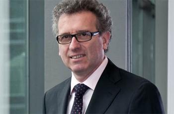 Pierre Gramegna. Ministro de Finanzas de Luxemburgo
