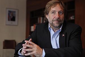 Entrevista al Ministro de Transportes Pedro Pablo Errazuriz