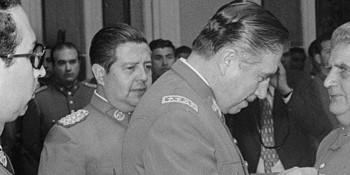 Manuel Contreras y Augusto Pinochet