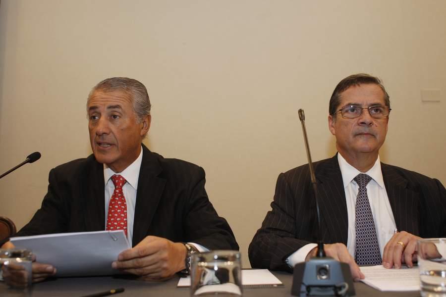 Julio Ponce Lerou y Patricio Contesse