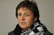 Paul McCartney leaves the High Court in central London, on February 1