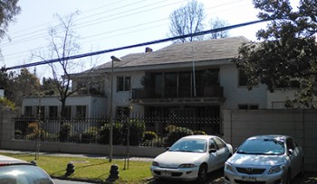 Sede Fundación de Señoras del Ejército, Santiago.