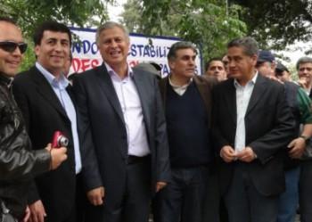 Gastón Saavedra, Alcalde de Talcahuano, y Raúl Súnico. Fuente: Radio del Mar