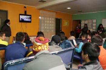 Menores en el Centro Cerrado de San Joaquín