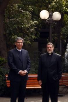 A la derecha, Jaime Eartl, presidente junta directiva UGM