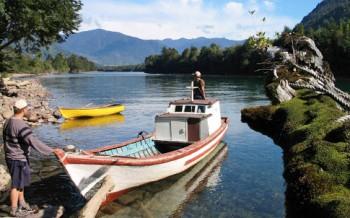 Río Vodudahue (Fuente: Parque Pumalín)