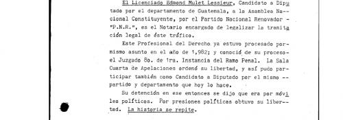 Detalle del documento policial
