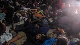 Galería de fotos: la imparable caravana que asusta a Trump