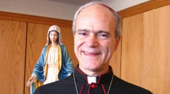 Obispo Felipe Bacarreza (Fuente: web diócesis de Los Ángeles)