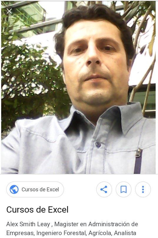 """Álex Smith, el """"profesor"""""""