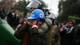 Encuesta UDP: Desciende considerablemente la confianza de los chilenos en Carabineros