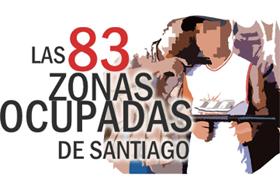 Zonas Ocupadas de Santiago 2012