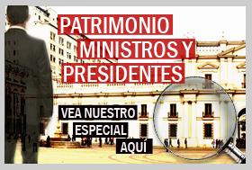 El patrimonio de los ministros y presidentes
