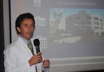 Cristian Gabella (Fuente: Hospital de Santa Cruz)