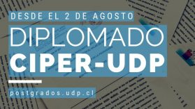 Abiertas las inscripciones para el Diplomado CIPER-UDP de Periodismo de Investigación