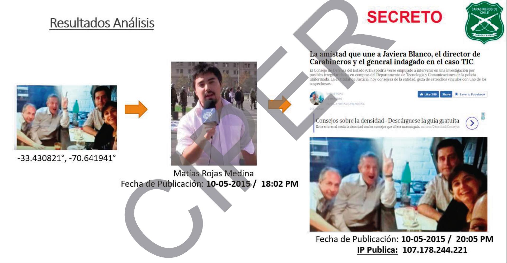 Informe de la UIOE sobre noticia publicada en El Ciudadano