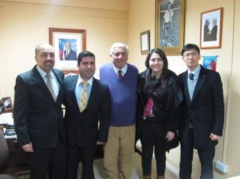Equipo de LG se reune con alcalde de Cauquenes (Fuente: Radiogeminis.cl)
