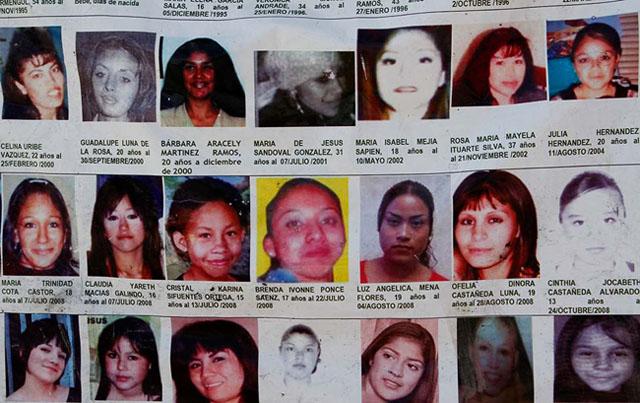 Lucio Soria | Archivo | El Diario | Manta colocada afuera de la FGE como protesta por los feminicidios y las desapariciones ocurridas los últimos veinte años