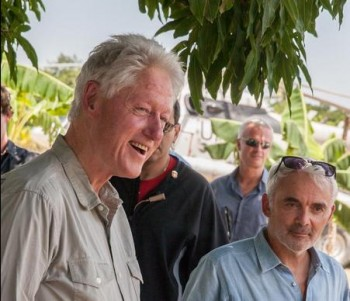 Bill Clinton y Frank Giustra