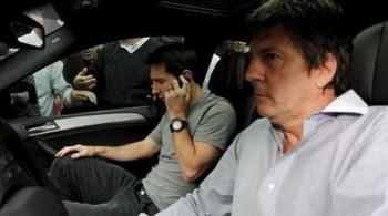 Lionel Messi y su padre (Fuente: elnacional.com)