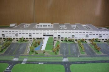 Maqueta del Hospital de Rancagua