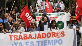 Sindicatos en tiempos de crisis: reviven pero son ignorados por la autoridad