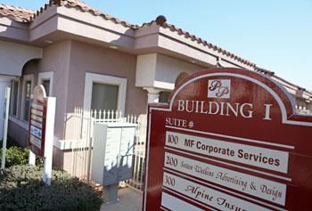Oficina de Amonátegui en Las Vegas (Fuente: Mcclathydc.com)